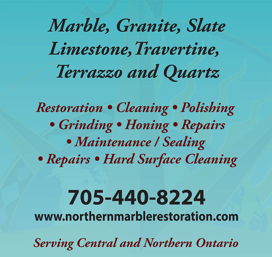 Restoring, cleaning, polishing, repairs to Marble, Granite, Slate, Limestone, Travertine, Terrazzo and Quartz